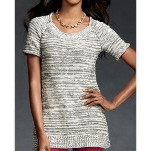 CAbi Marled Pullover Tunic Sweater Large #973